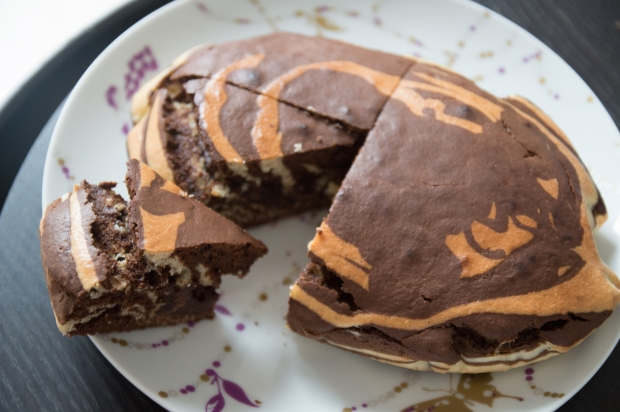 Marbré chocolat noix de coco