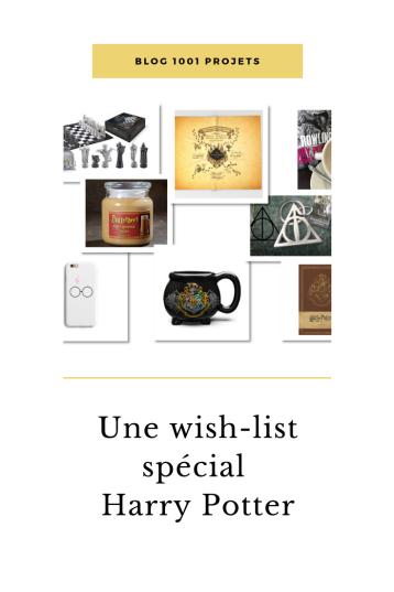 Une wish-list spécial Harry Potter
