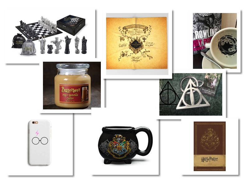 wish list accessoires Harry Potter