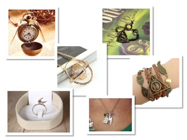 wish list bijoux harry potter