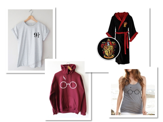wish list vêtements harry potter