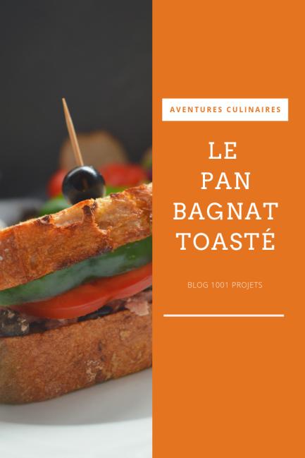 le pan bagnat toasté - blog 1001 projets