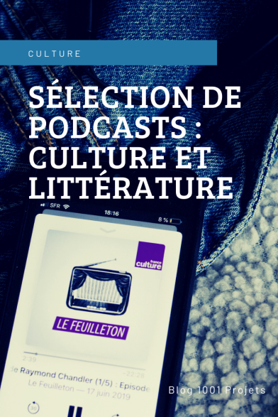 Sélection de podcasts : culture et littérature